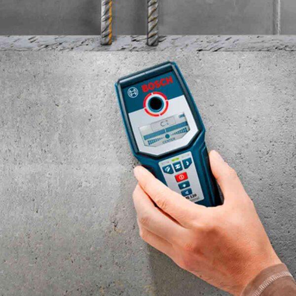 Прокат детектора скрытой проводки Bosch GMS 120 Professional в Минске