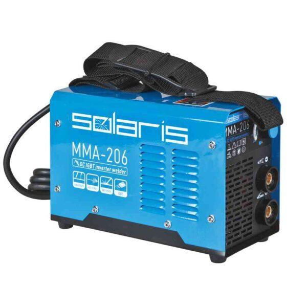 Прокат сварочного инвертора Solaris MMA-206 в Минске